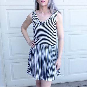 ELLA MOSS striped jersey tank dress S M (F1)